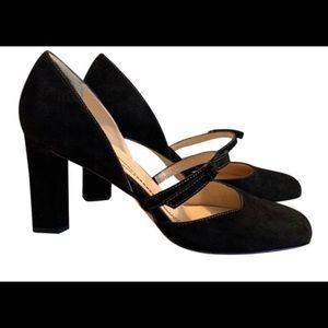 Late Spade Black Courtney Pumps Size 7.5